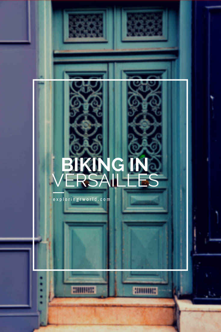 Biking in Versailles