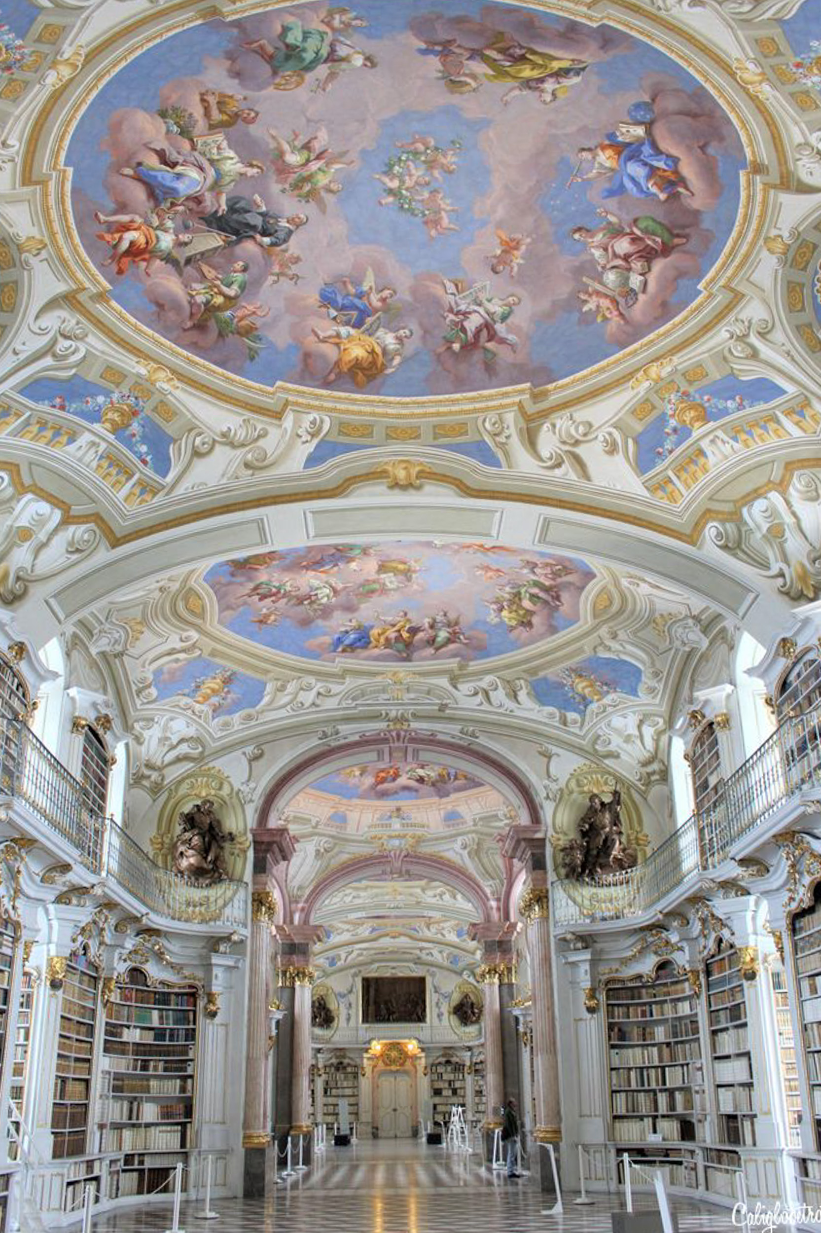 A Real Life Fairy Tale Library at Admont Abbey, Austria - Beauty and the Beast Library - World's Most Beautiful Libraries - Amazing Libraries - Libraries in Europe - California Globetrotter (1)-2