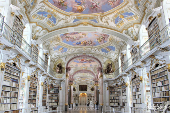 A Real Life Fairy Tale Library at Admont Abbey, Austria - Beauty and the Beast Library - World's Most Beautiful Libraries - Amazing Libraries - Libraries in Europe - California Globetrotter (2)-2