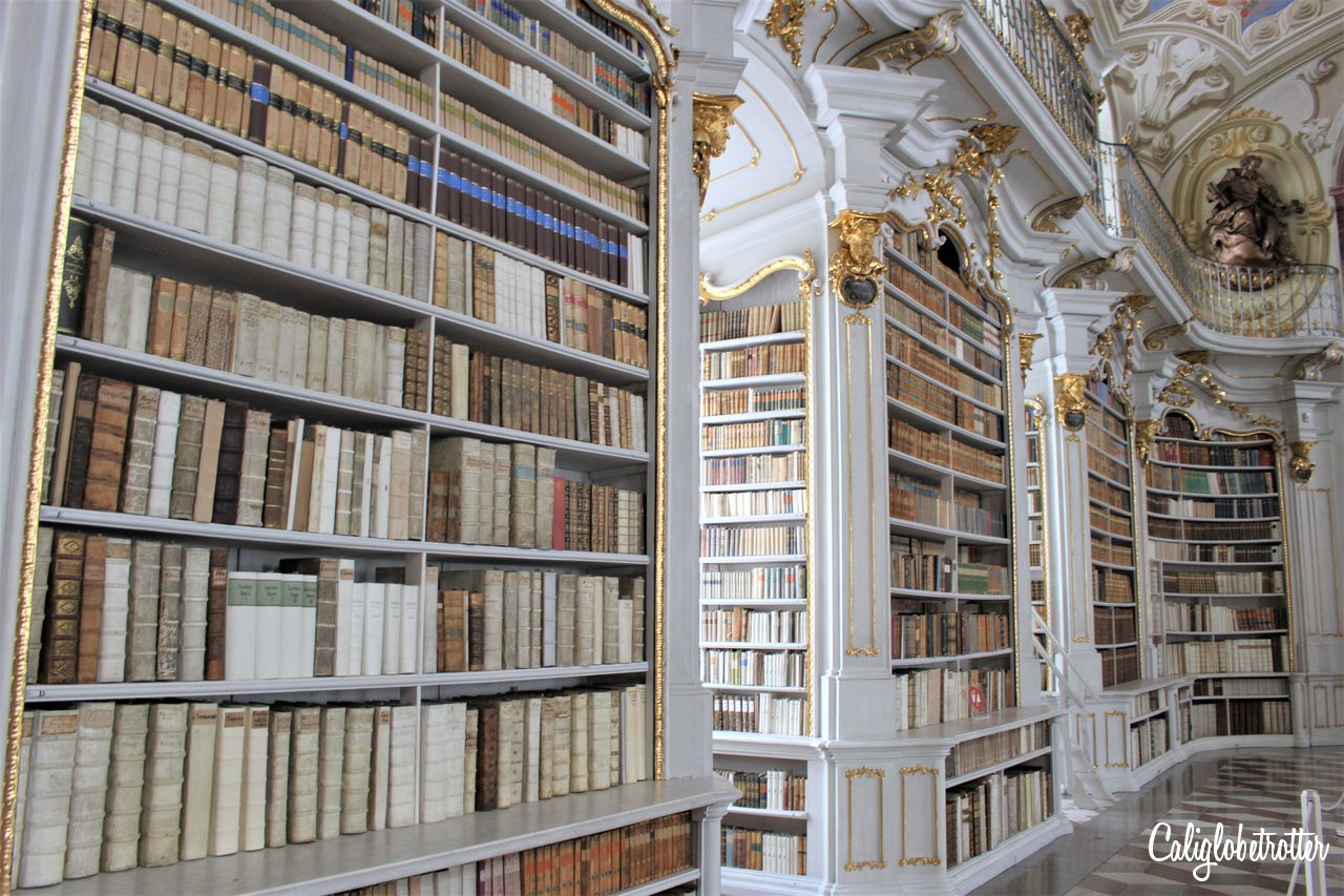A Real Life Fairy Tale Library at Admont Abbey, Austria - Beauty and the Beast Library - World's Most Beautiful Libraries - Amazing Libraries - Libraries in Europe - California Globetrotter (4)