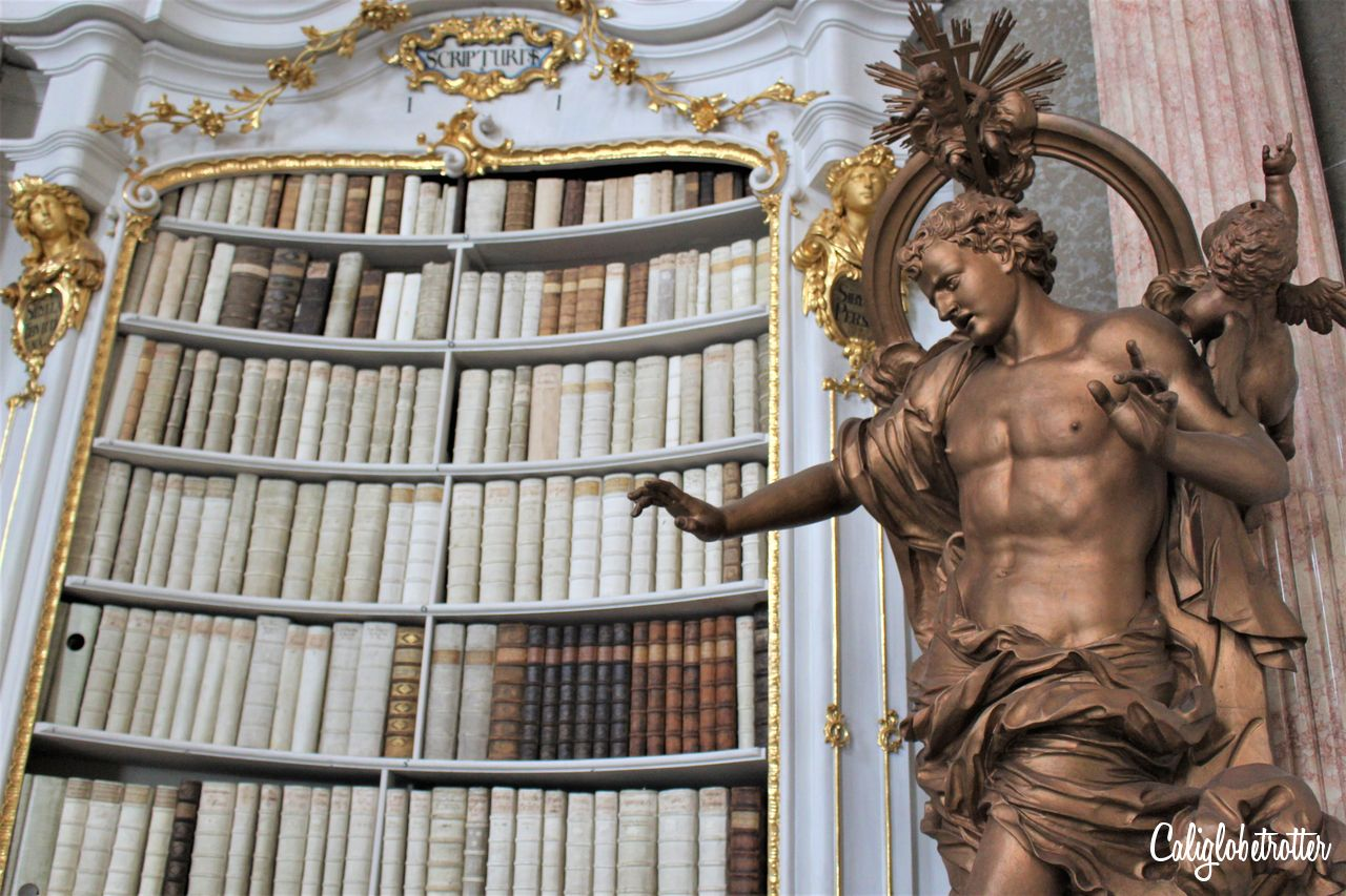 A Real Life Fairy Tale Library at Admont Abbey, Austria - Beauty and the Beast Library - World's Most Beautiful Libraries - Amazing Libraries - Libraries in Europe - California Globetrotter (5)