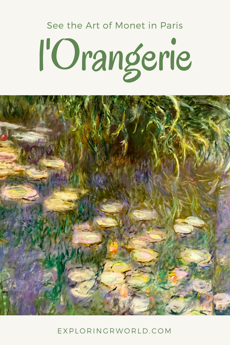 Orangerie Museum Paris Monet