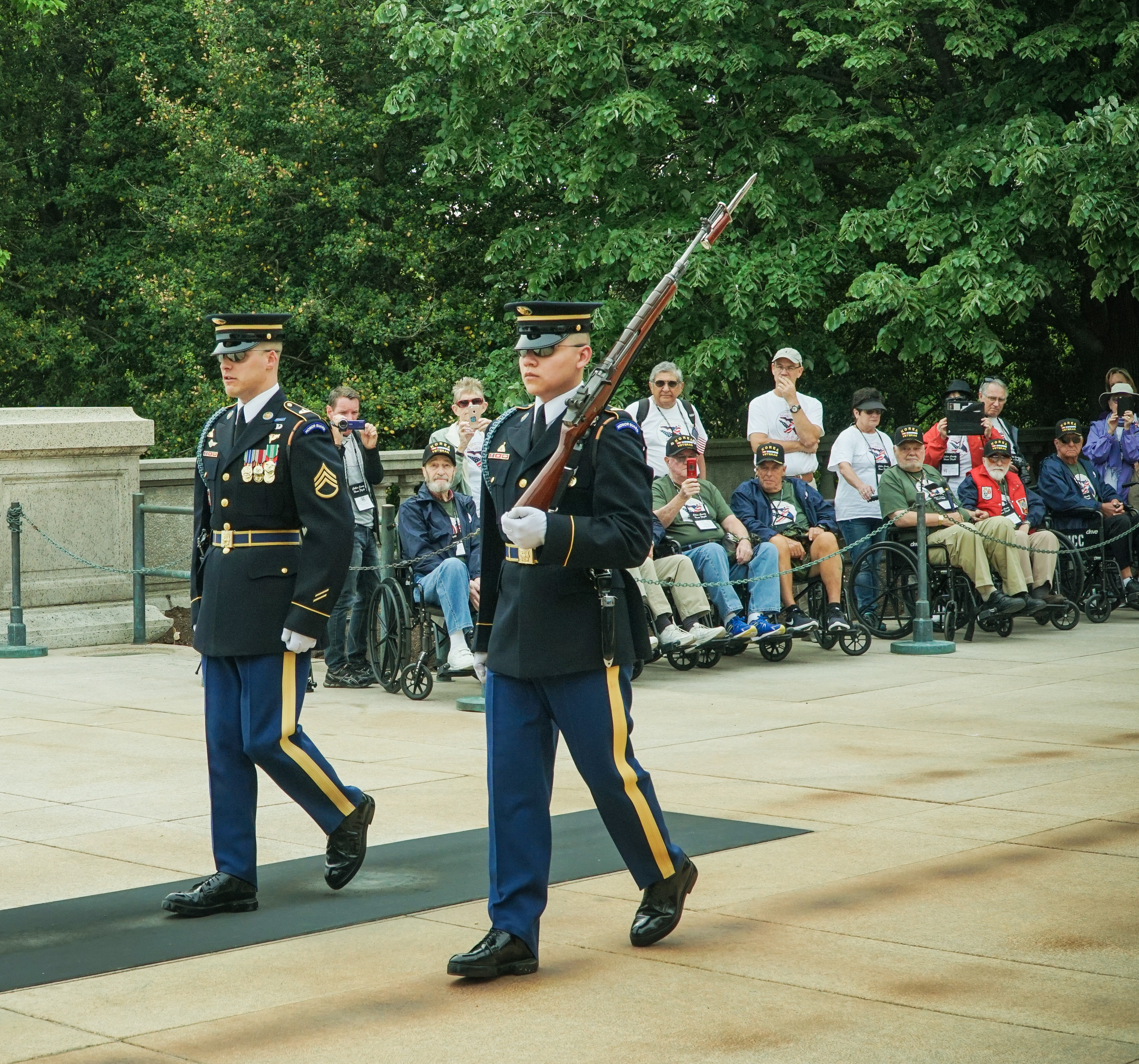 Arlington National Cemetery, Tomb of the Uknown Soldier, Honor Flight