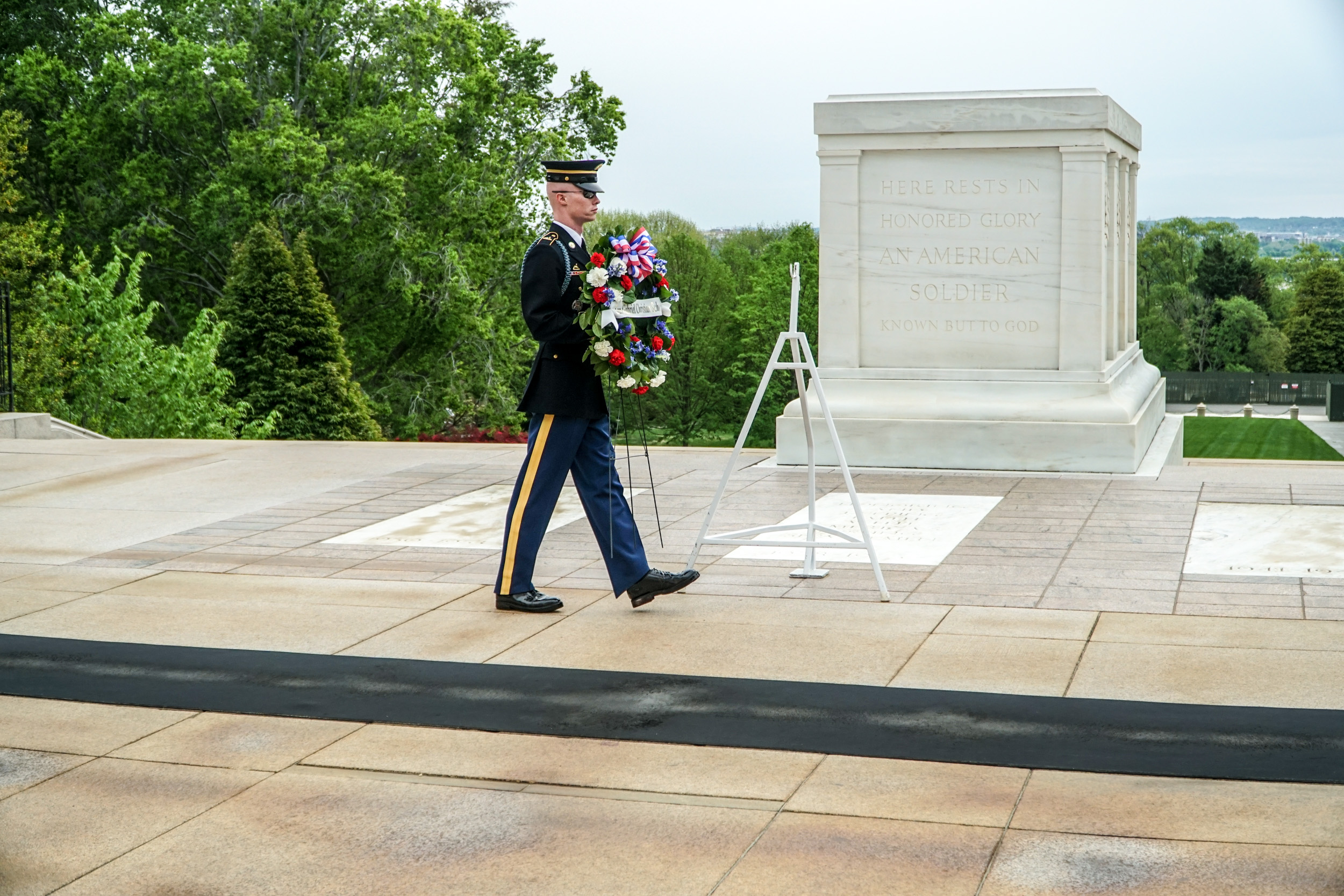 Arlington National Cemetery, Tomb of the Uknown Soldier