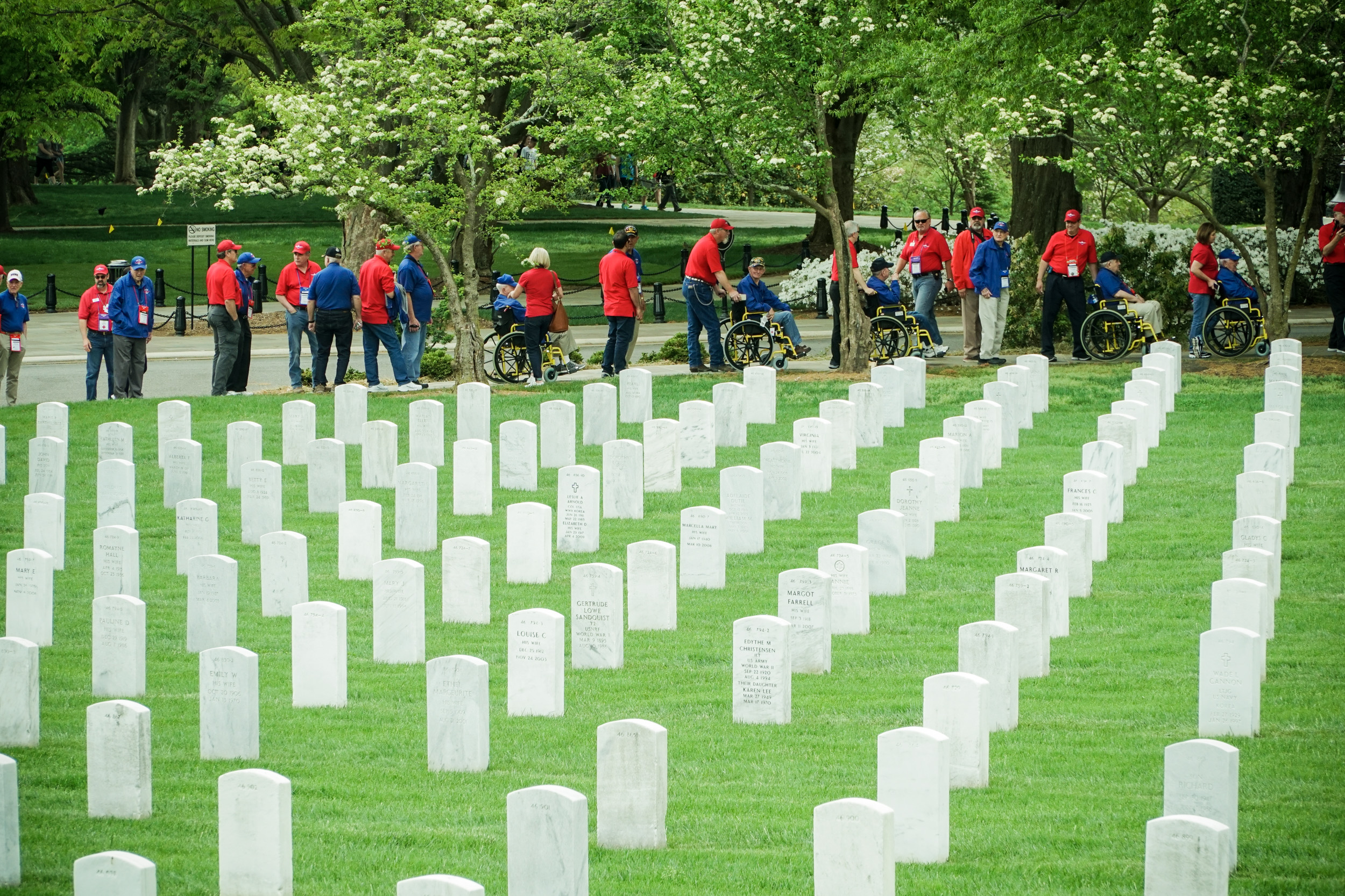 Arlington National Cemetery, Honor Flight