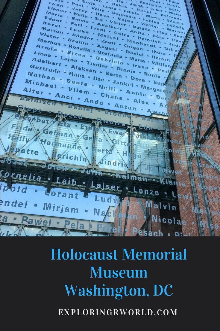 Holocaust Museum, Exploring Our World