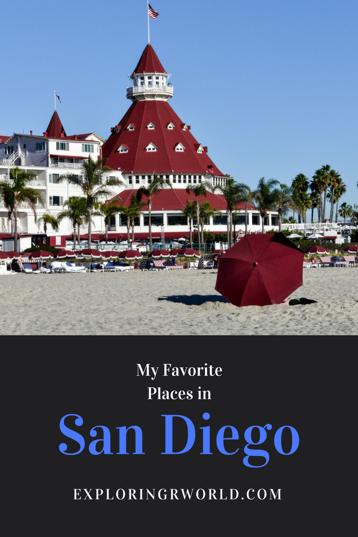 San Diego Favorite Places - Exploringrworld.com