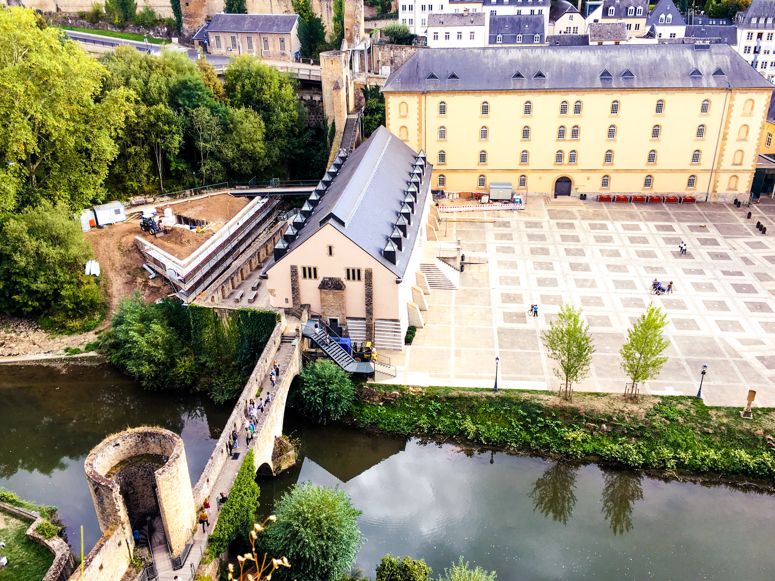 Luxembourg City Castle