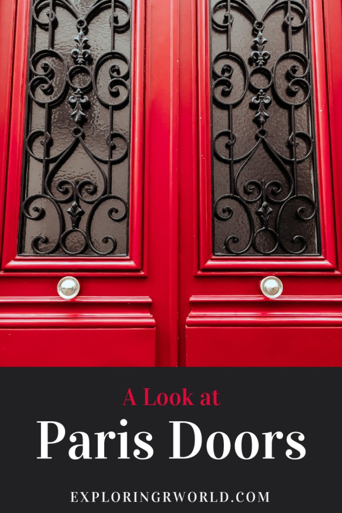 A Look at Paris Doors