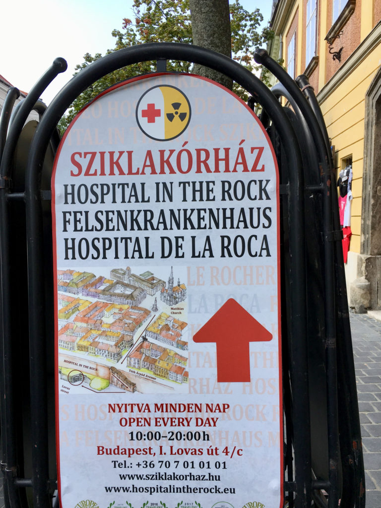 Budapest Hospital in the Rock