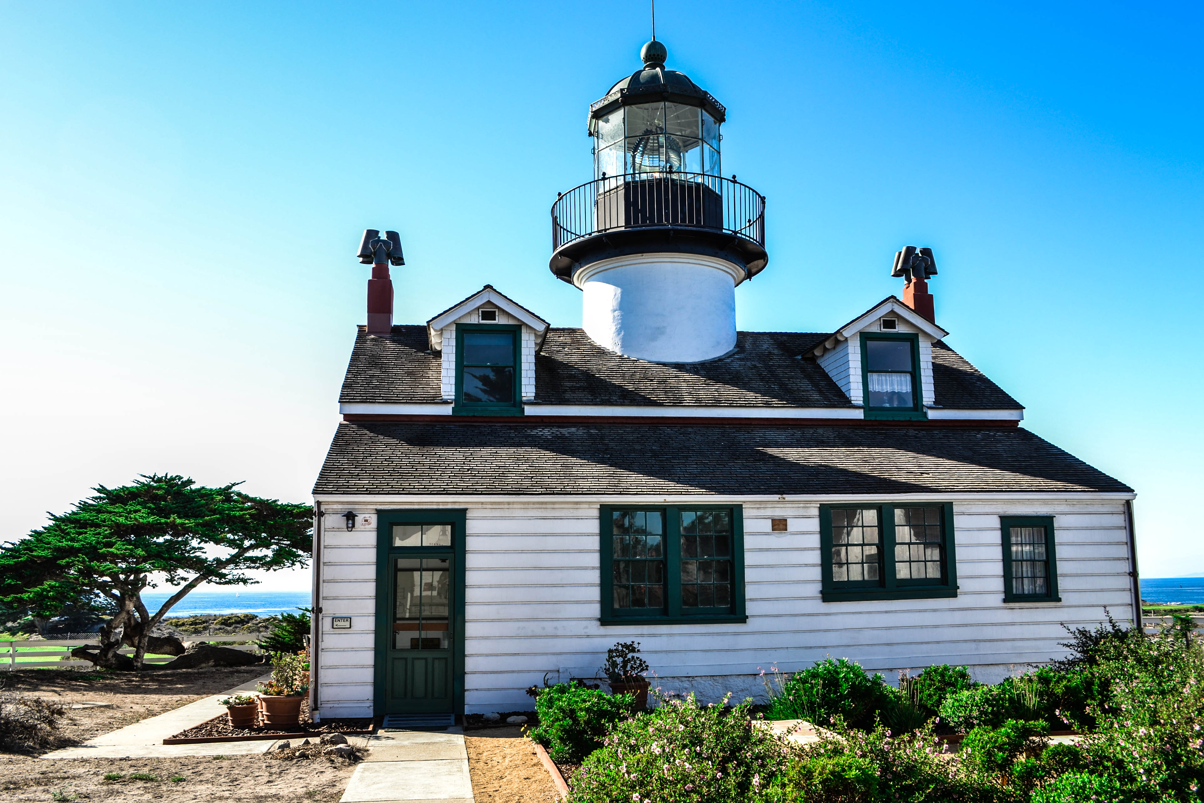 Monterey Point Pinos Lighthouse