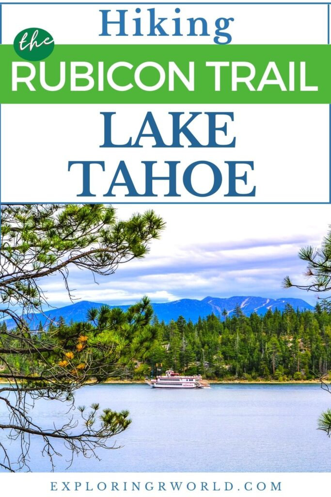 Rubicon Trail Lake Tahoe California