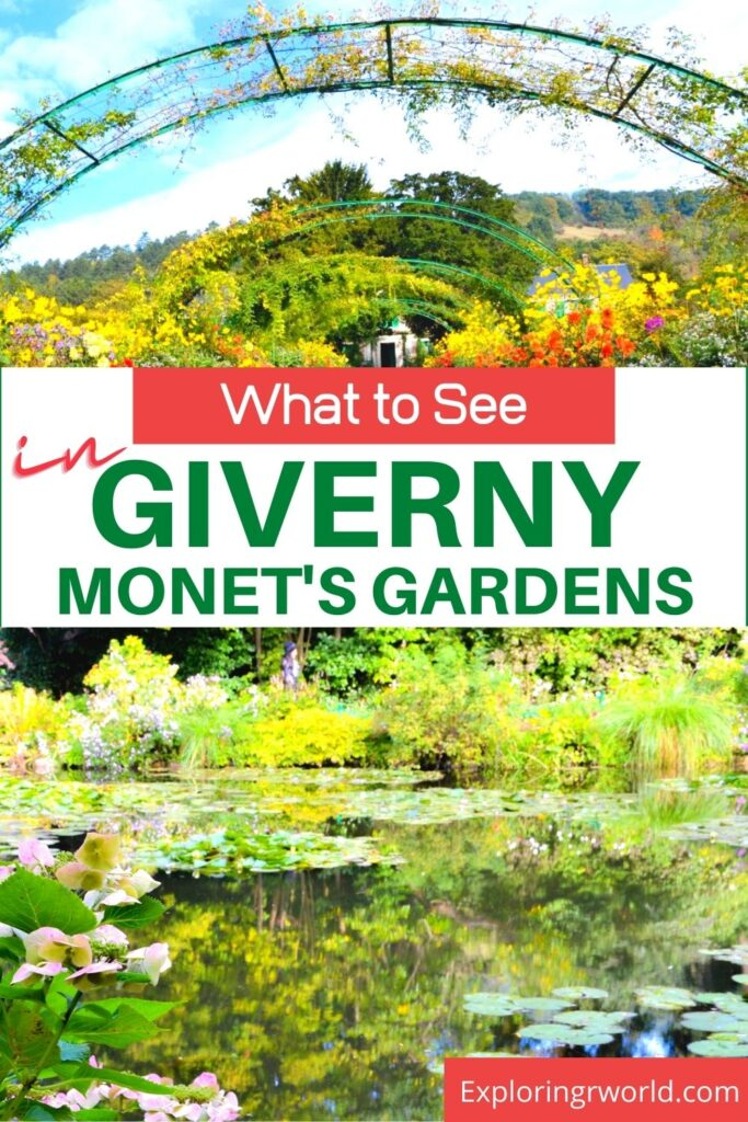 Giverny France Monets Gardens