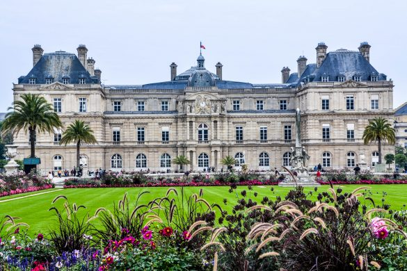 Luxembourg Gardens and Palace