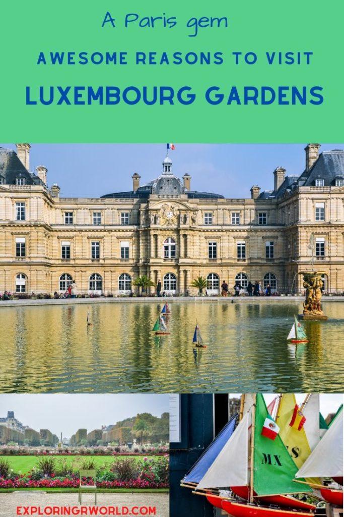 Luxembourg Gardens Paris - Exploringrworld.com