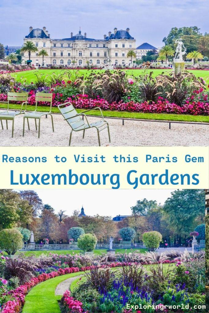 Paris Luxembourg Gardens - Exploringrworld.com