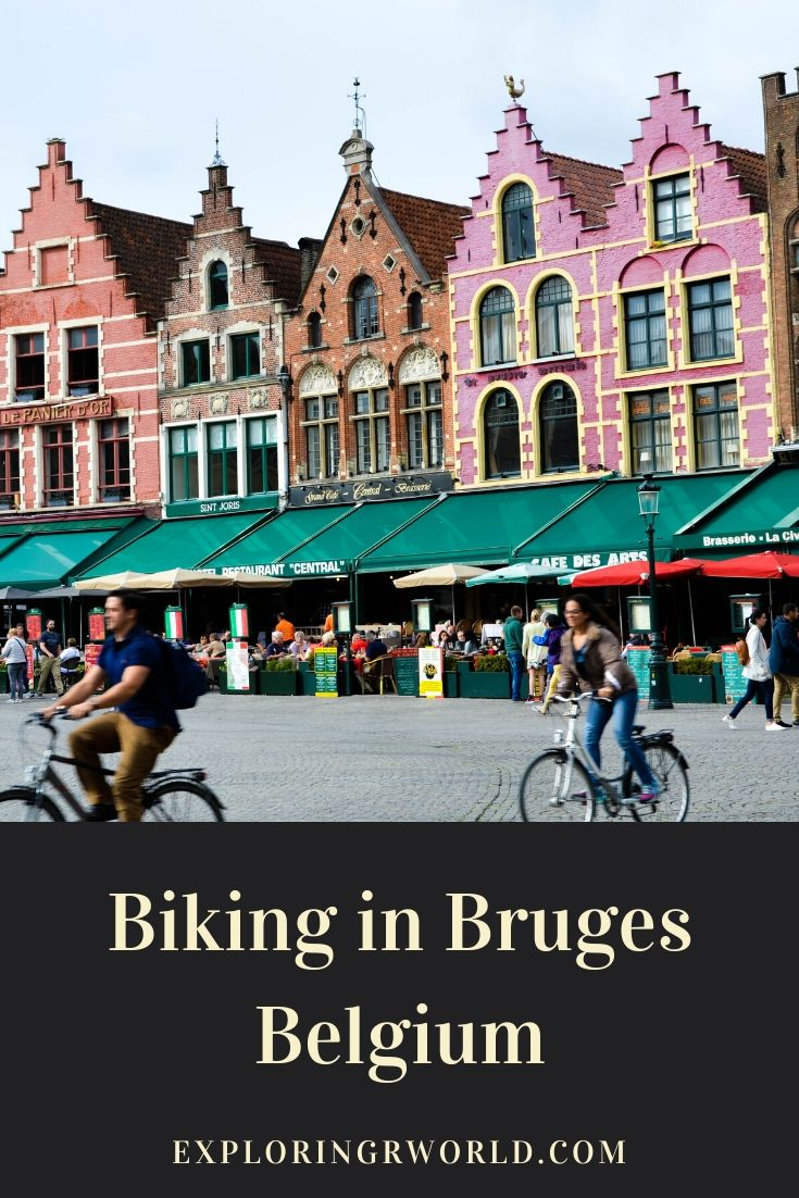 Bruges Belgium Biking - Exploringrworld.com