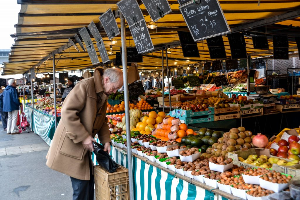 Versailles street market