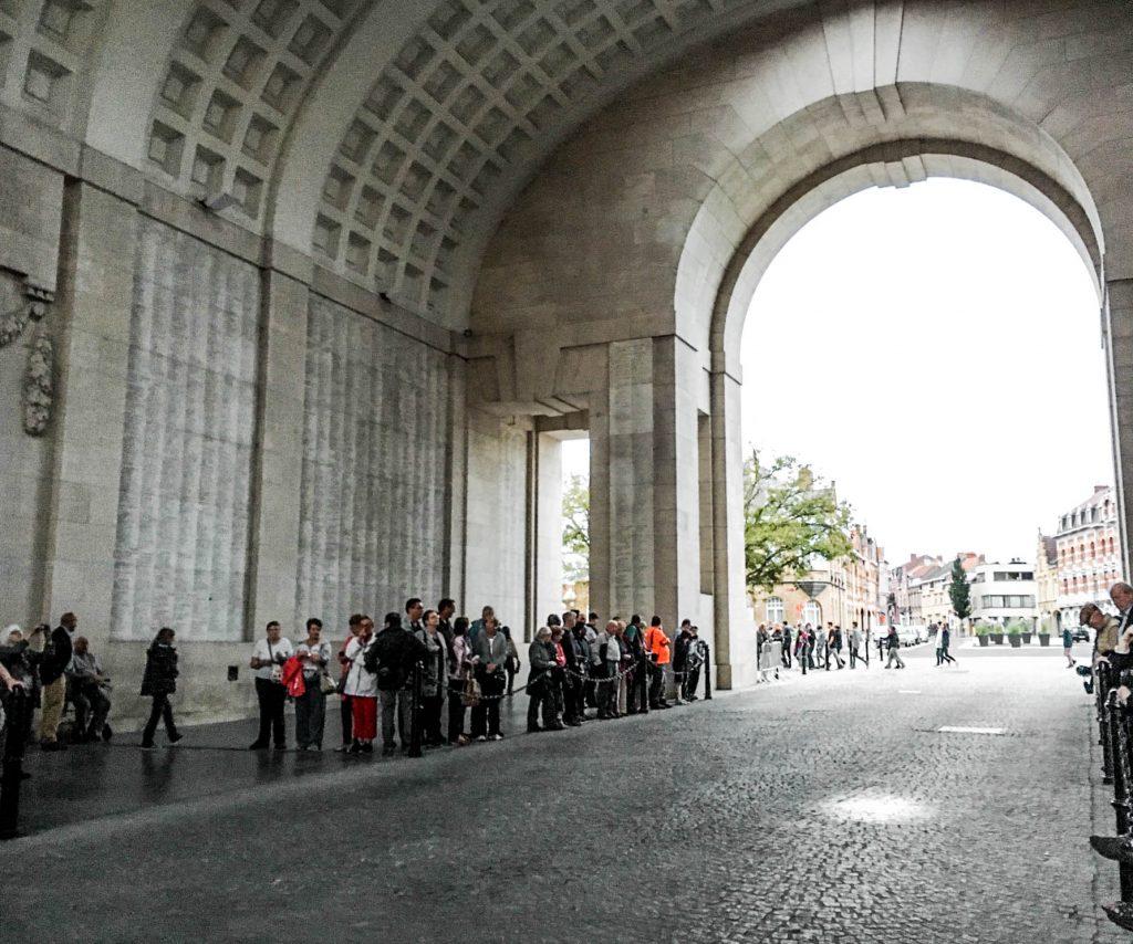 Ypres Menin Gate Belgium
