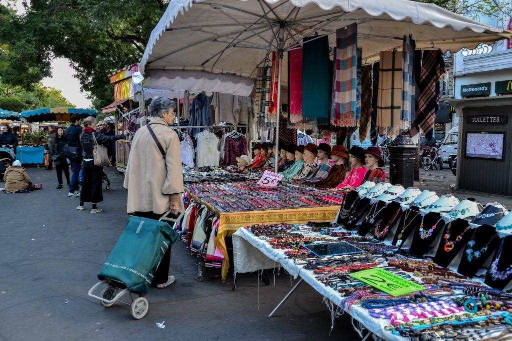 Marais street market