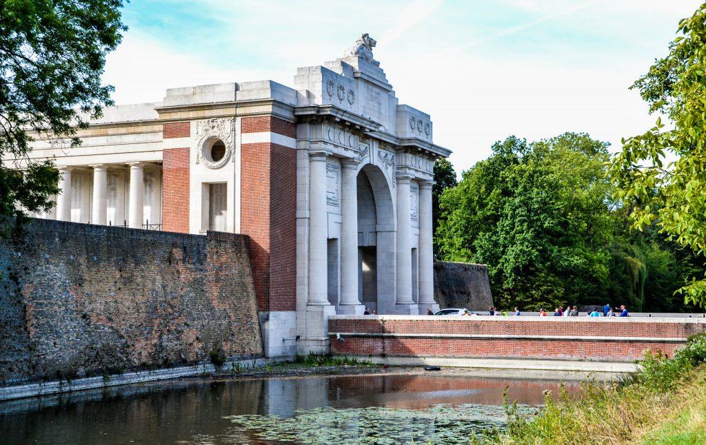 Ypres Ieper Menin Gate Belgium