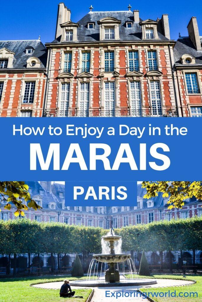 Marais Paris France