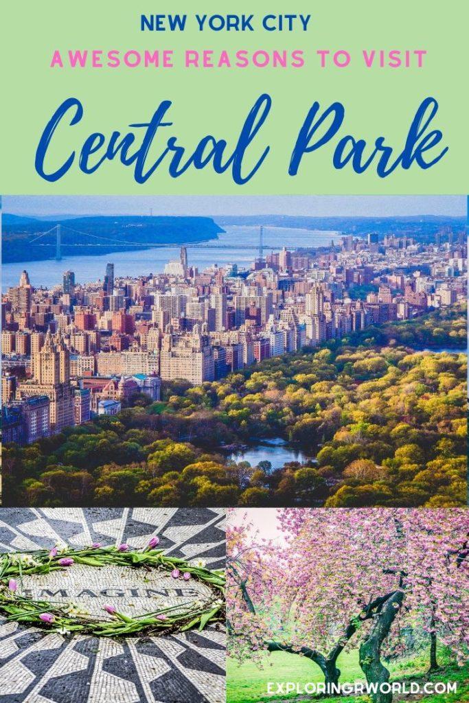 Central Park New York City - Exploringrworld.com