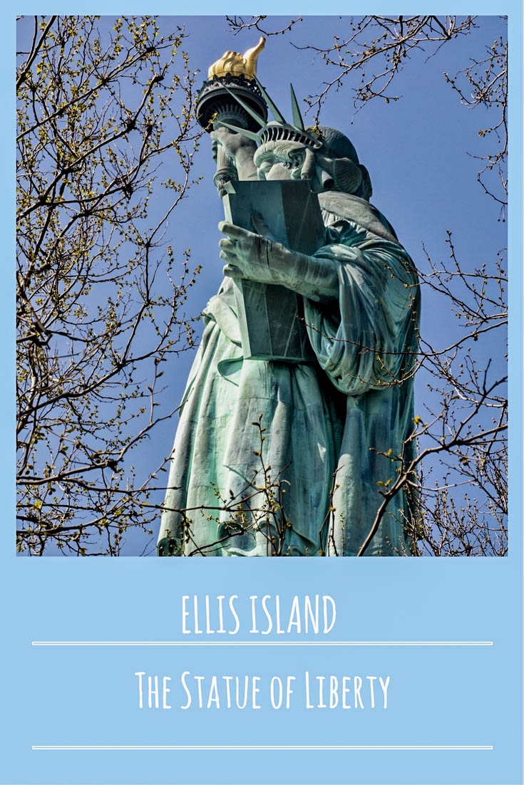 Ellis Island, statue of liberty, new york