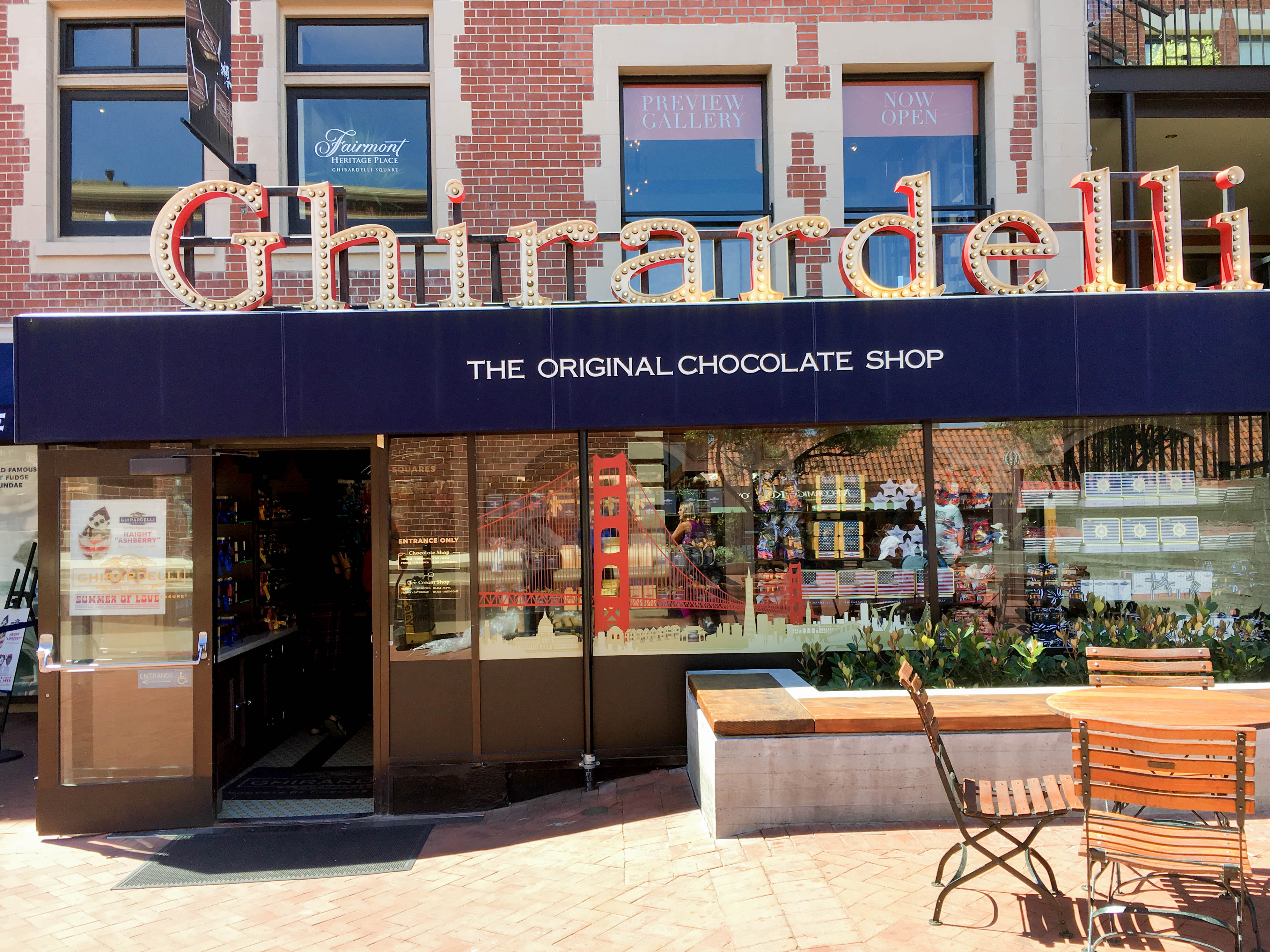 Ghirardelli Square Fishermans Wharf San Francisco