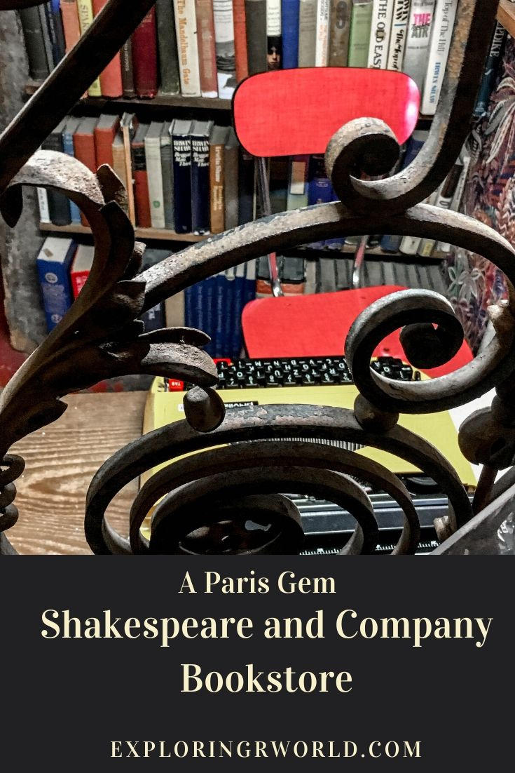 Shakespeare and Company Bookstore Paris - Exploringrworld.com
