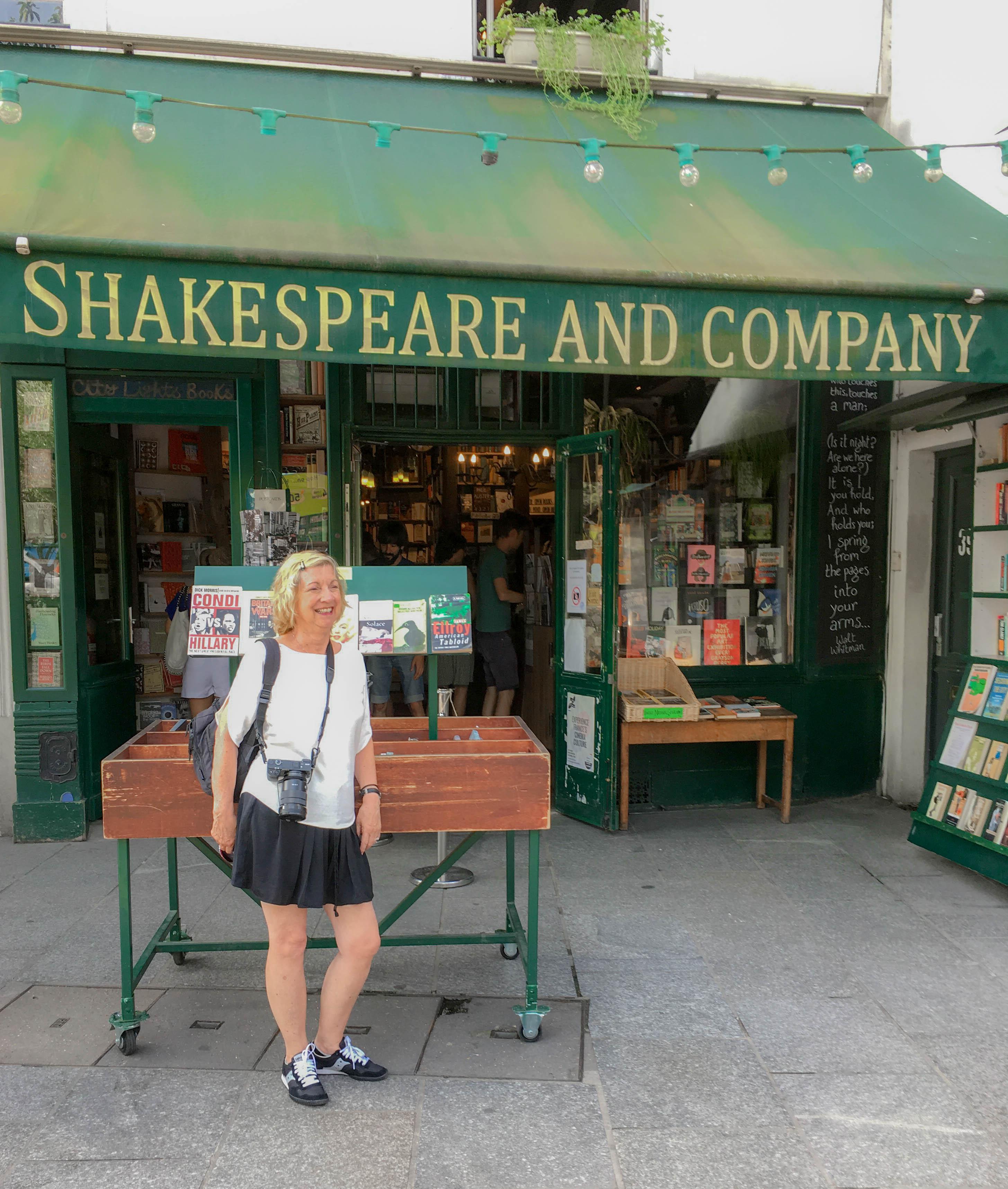 Paris Shakespeare Bookstore