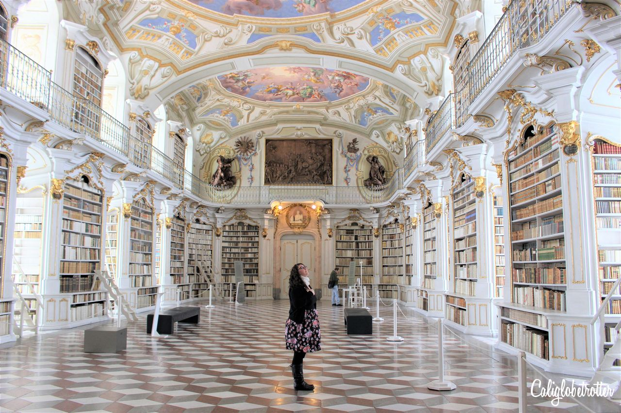 A Real Life Fairy Tale Library at Admont Abbey, Austria - Beauty and the Beast Library - World's Most Beautiful Libraries - Amazing Libraries - Libraries in Europe - California Globetrotter (6)