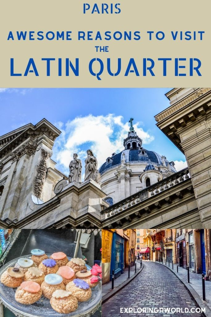 Latin Quarter Sorbonne - Exploringrworld.com