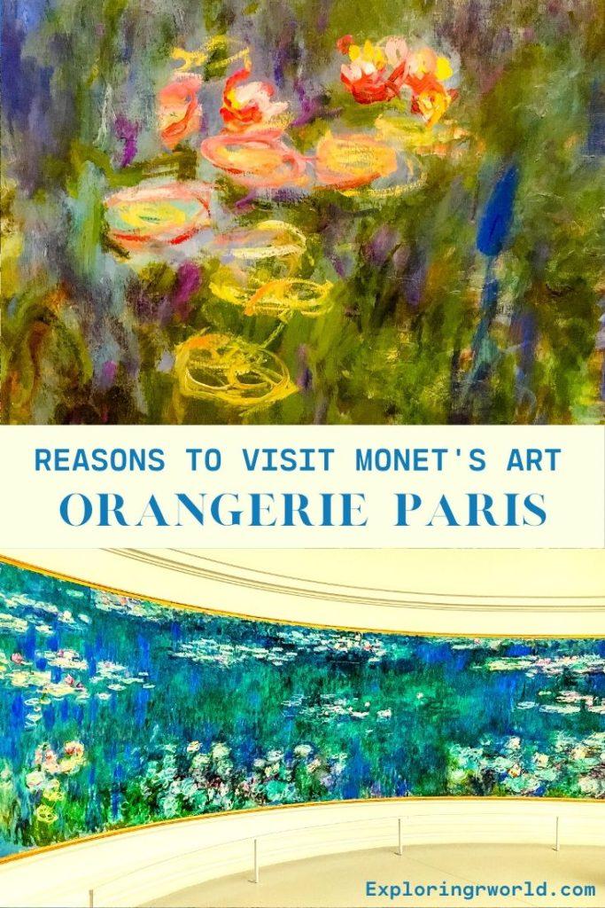 Orangerie Museum Paris - Exploringrworld.com