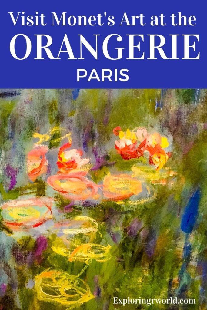 Orangerie Paris Monet Water Lilies