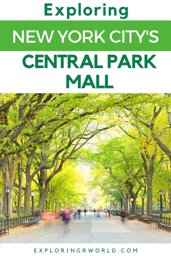 Central Park Mall New York City