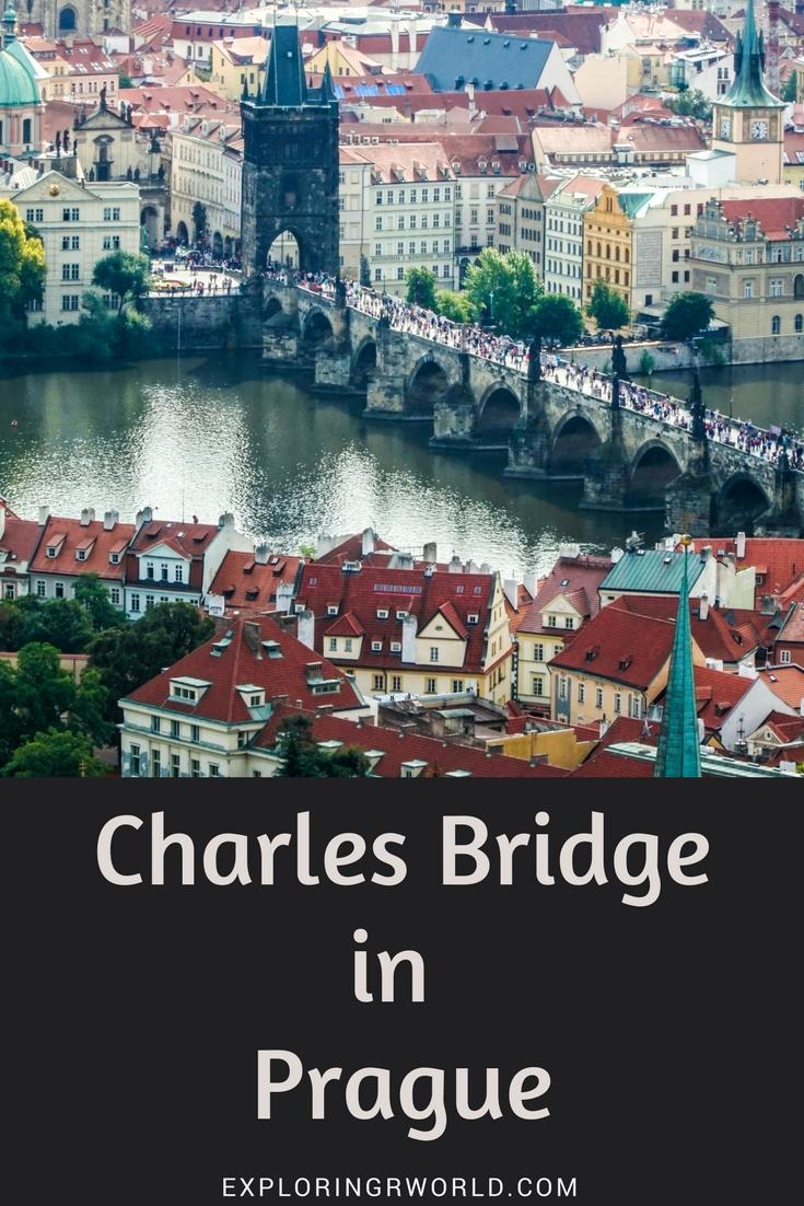 Charles Bridge Prague graphic