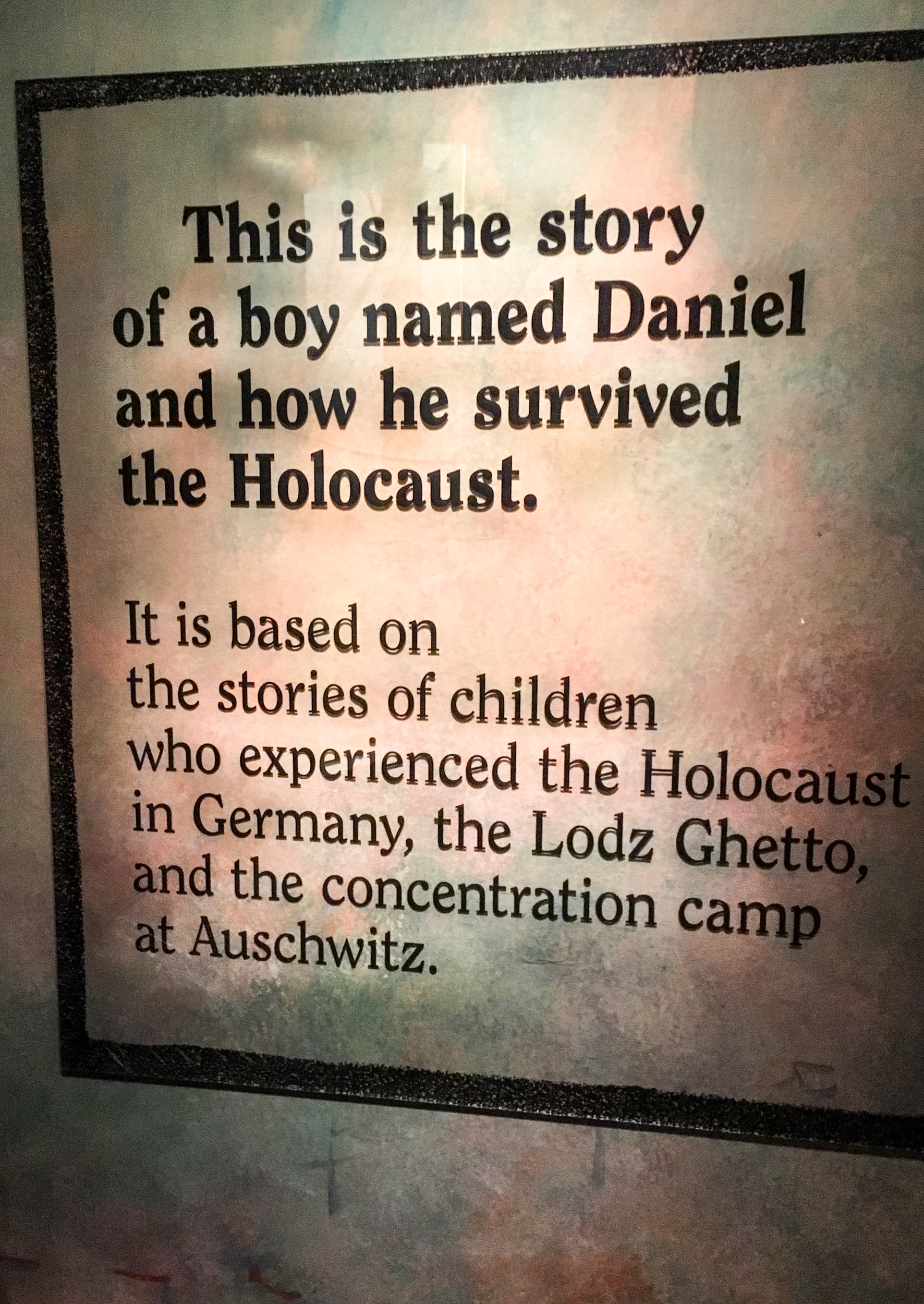 Holocaust Memorial Museum Washington DC