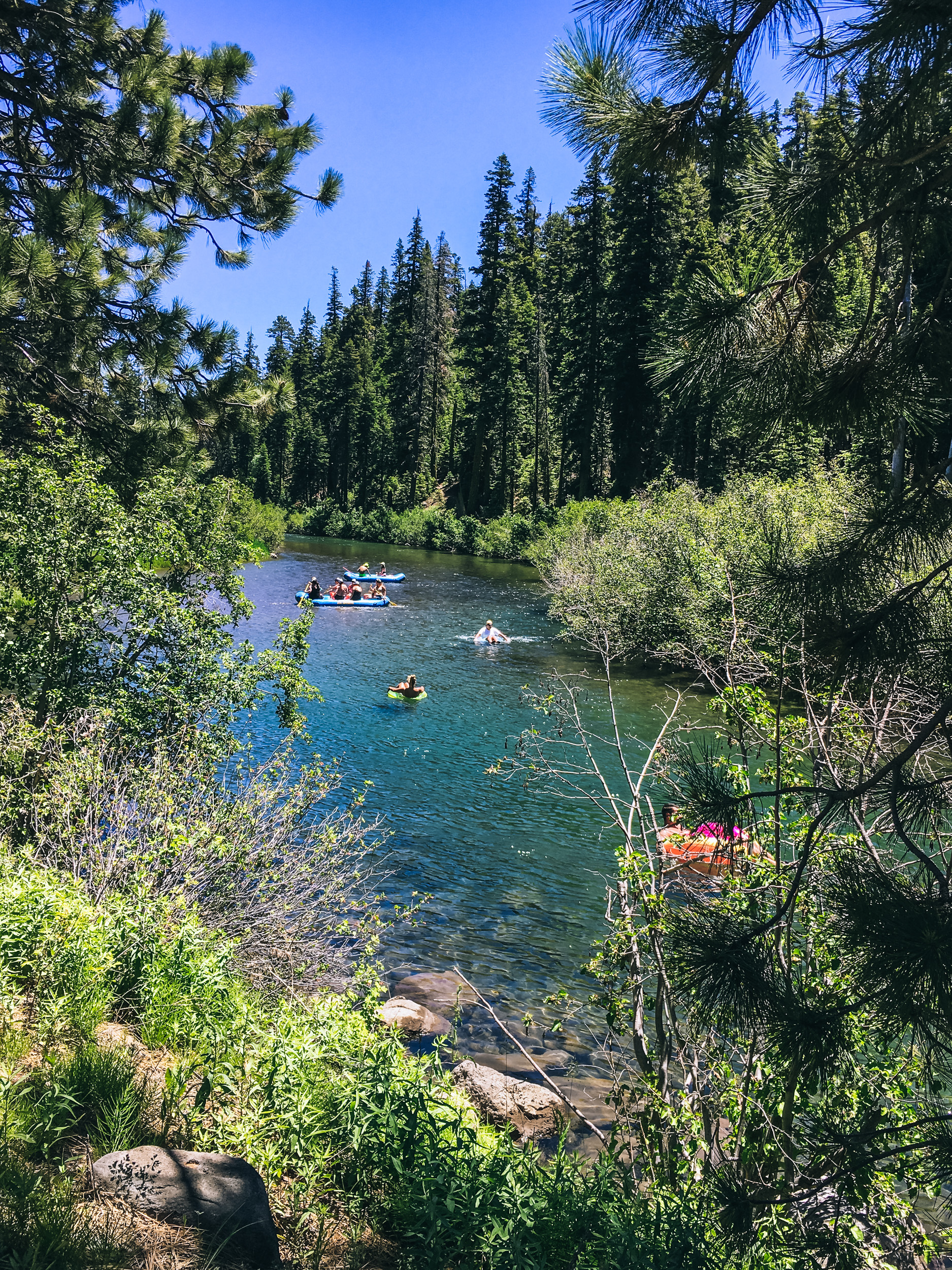 Truckee River, Lake Tahoe