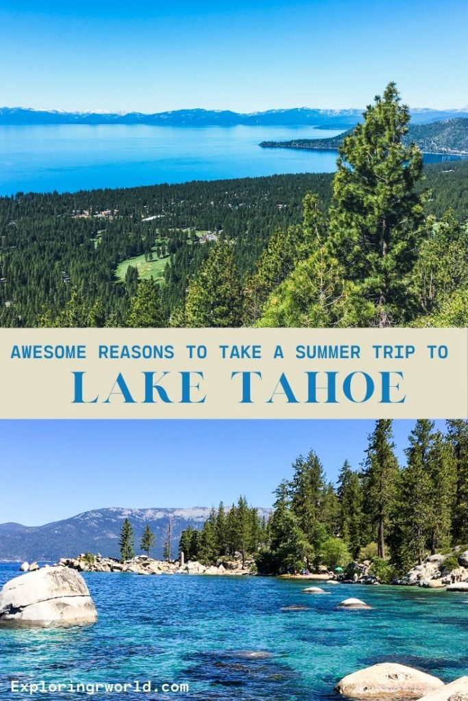 Lake Tahoe Summer Visit - Exploringrworld.com