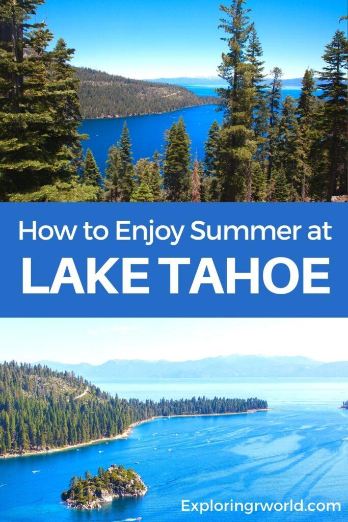 Lake Tahoe Summertime