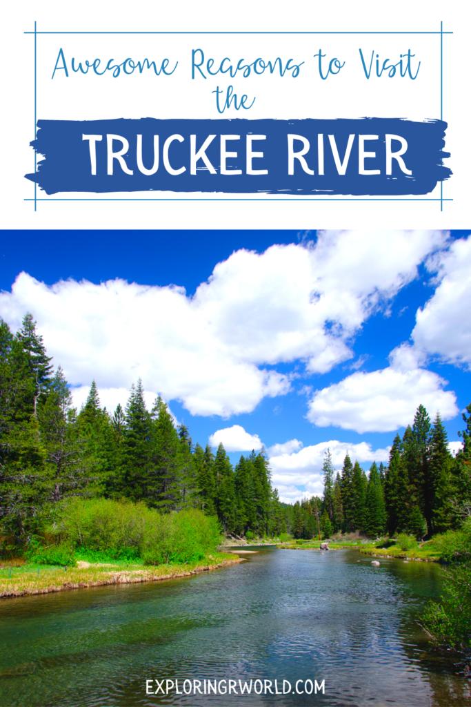 Lake Tahoe Truckee River - Exploringrworld.com
