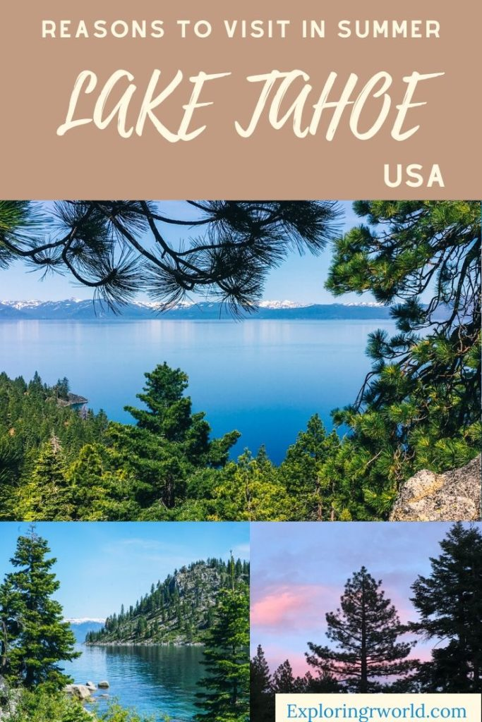 Lake Tahoe USA Summer - Exploringrworld.com