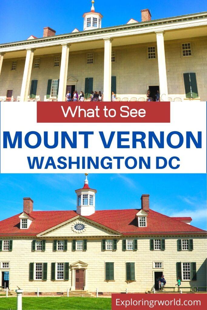 Mount Vernon Washington DC - Exploringrworld.com