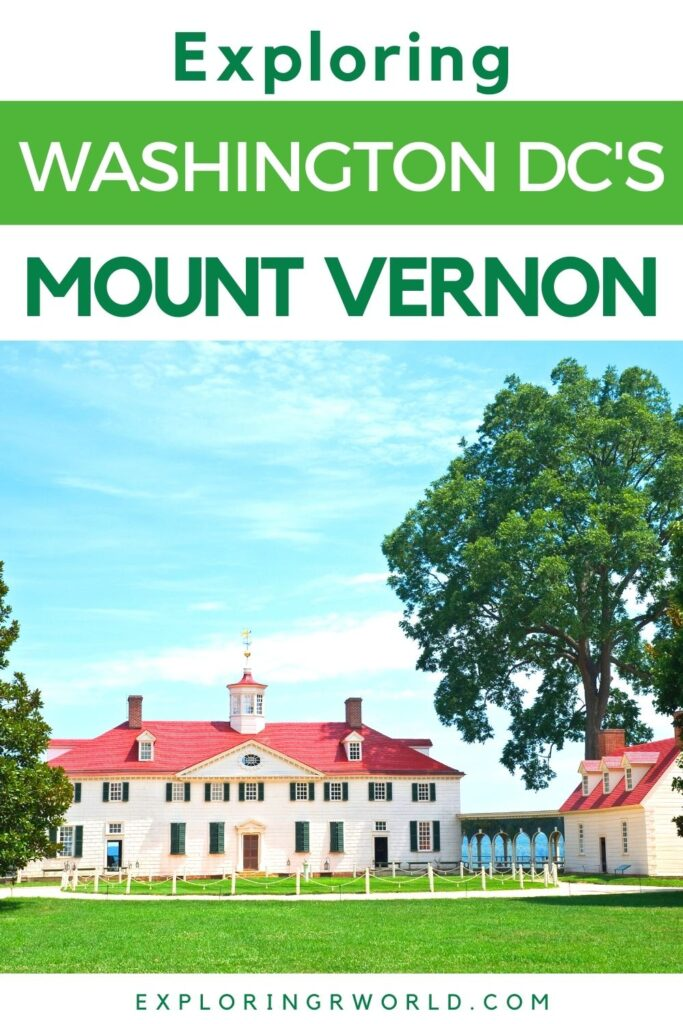 Mount Vernon Washington DC Washington Home