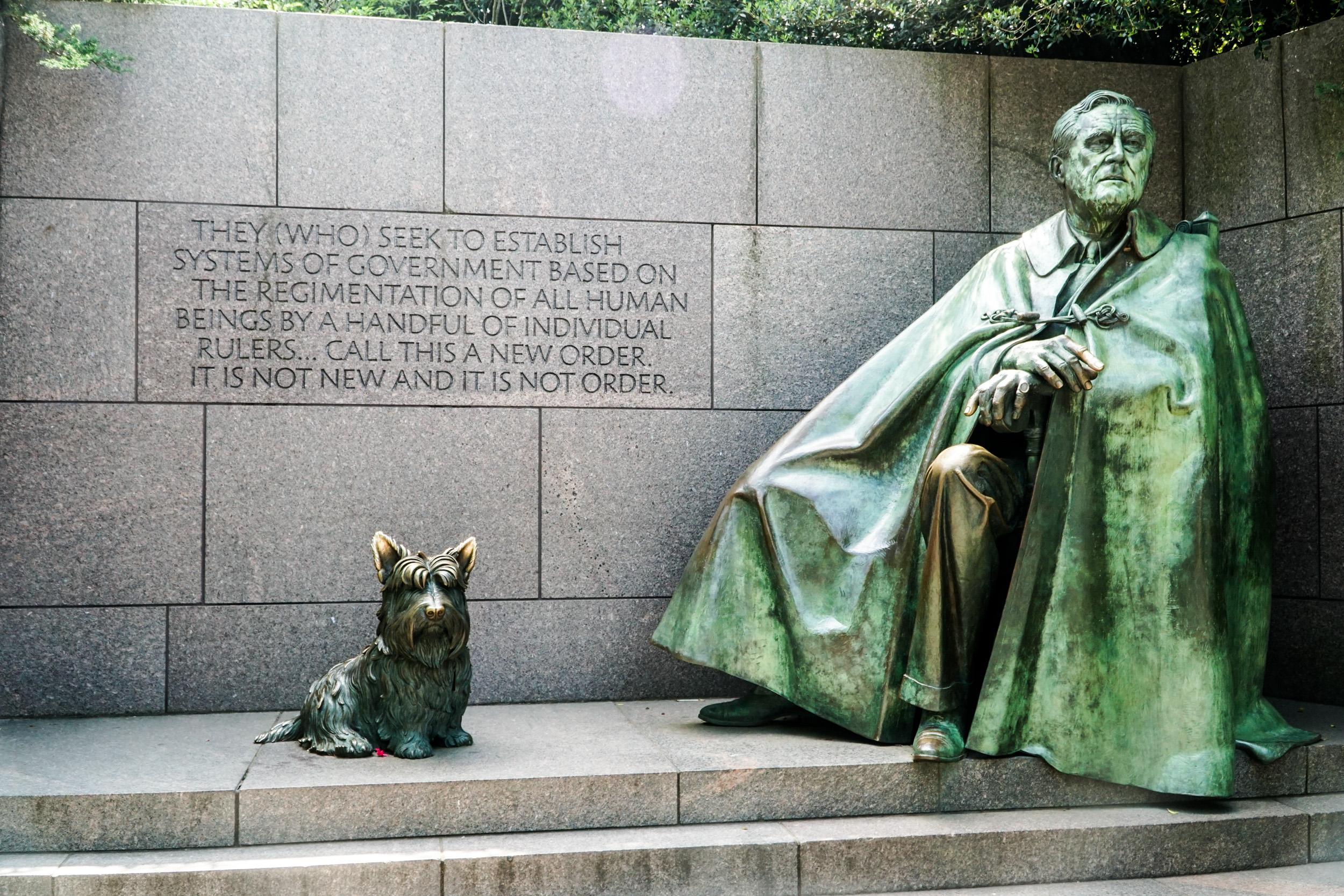 Washington DC Memorials, FDR Memorials