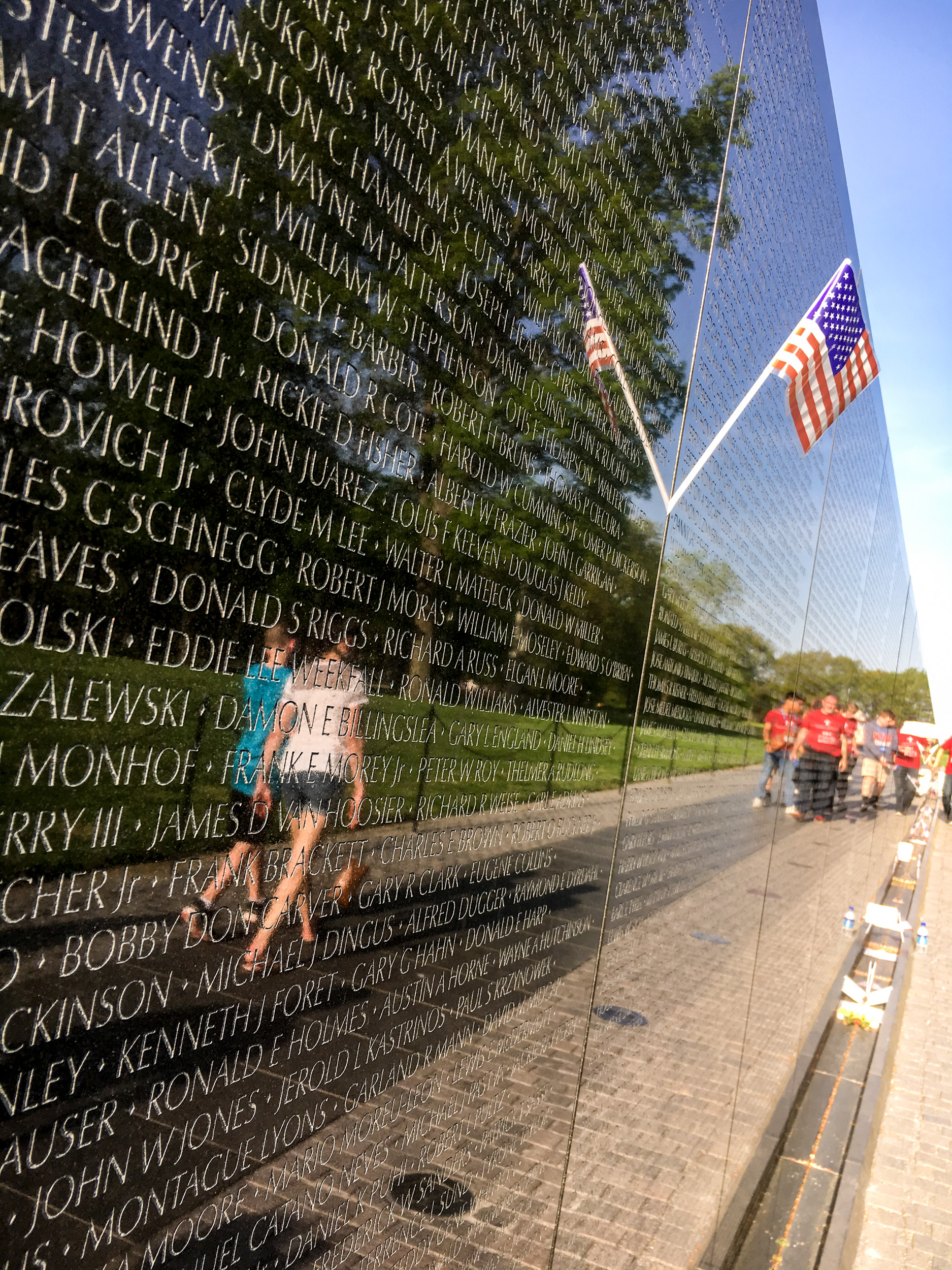 Washington DC Memorials, Vietnam Memorial