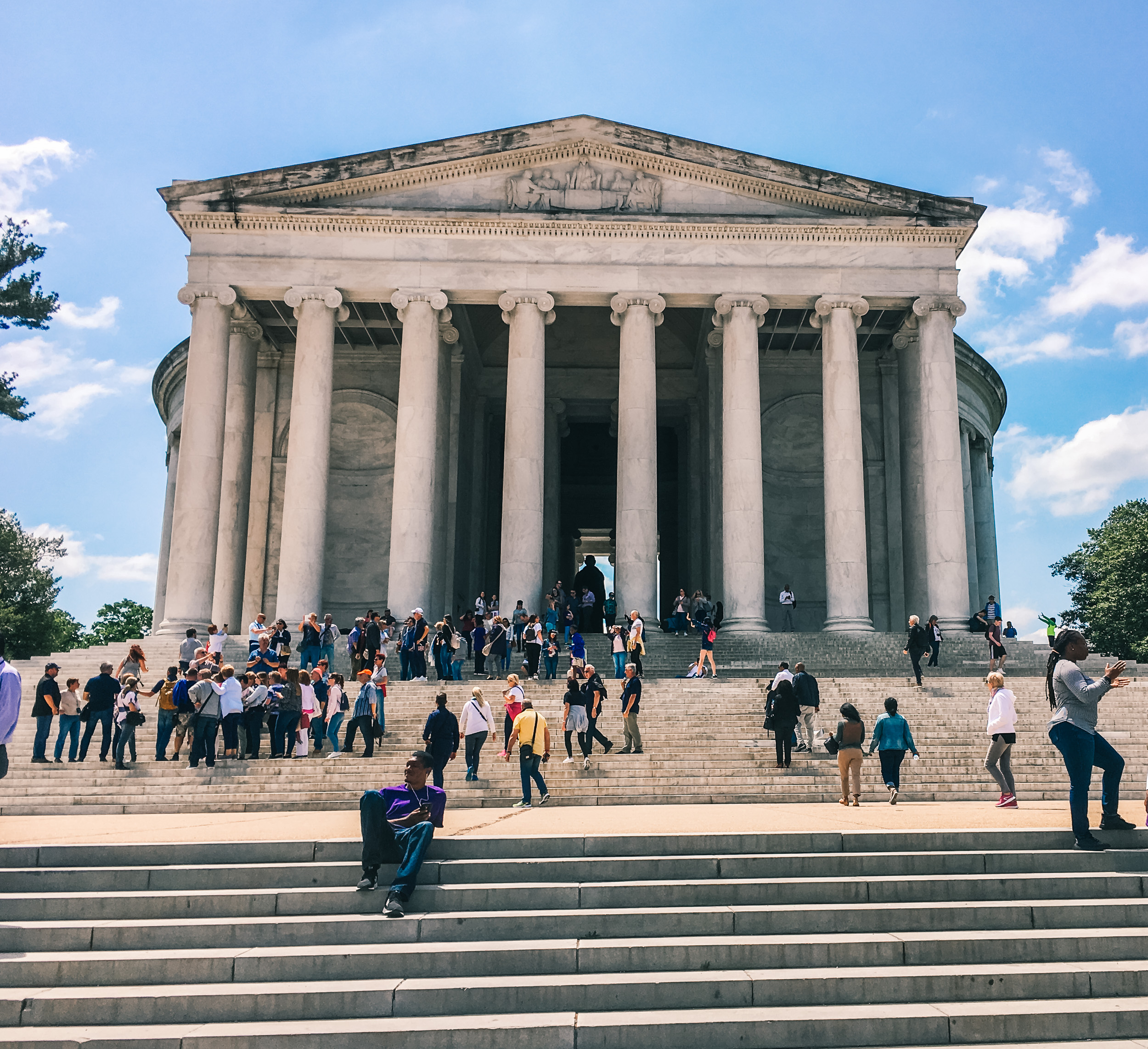 Washington DC Memorials, Jefferson Memorial