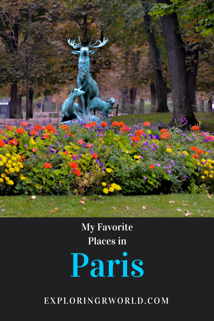 Paris Favorites -- Exploring Our World
