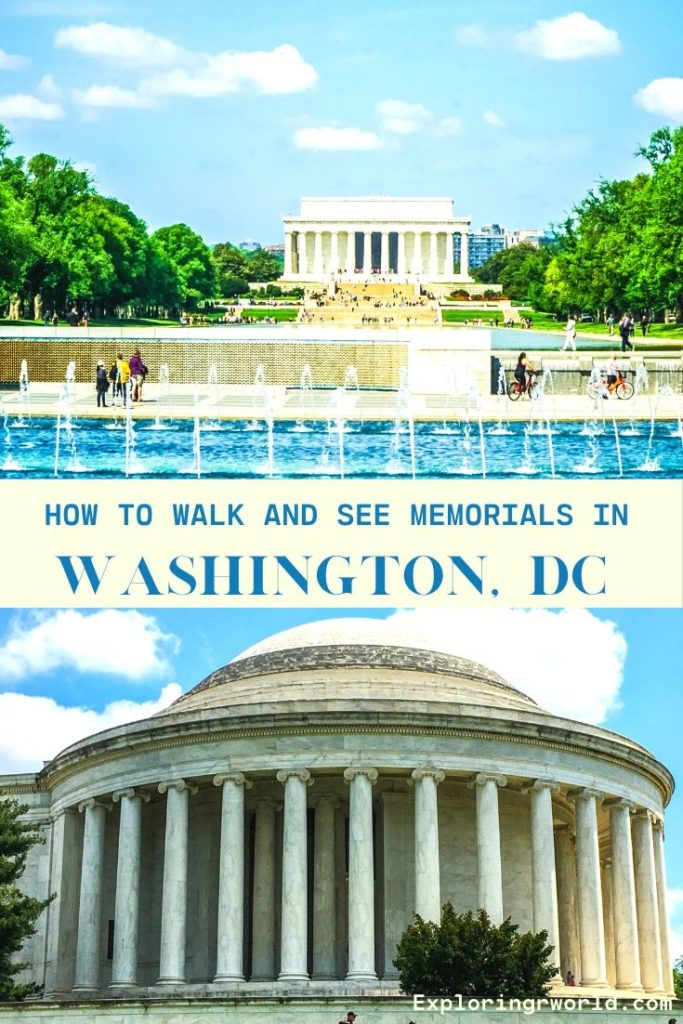 Washington DC Memorials - Exploringrworld.com